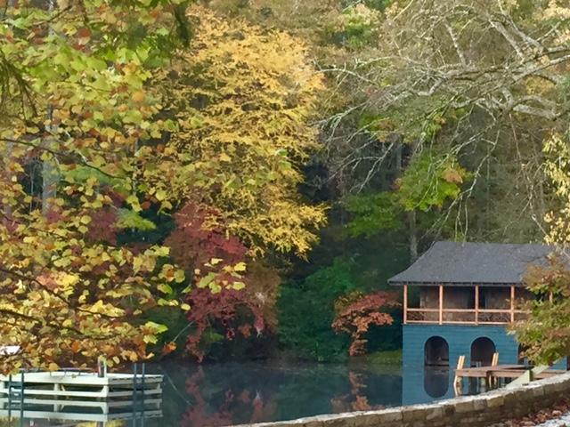 McLeod Lodge in the fall