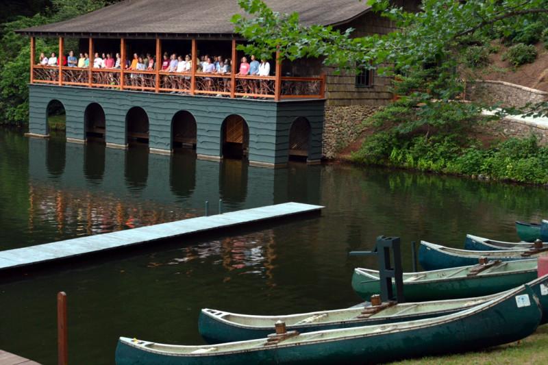 canoe formation