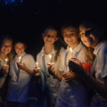 a cabin pauses to reflect on their wish on summer camp's final night