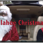The Illahee crew gets in the Christmas spirit for their carpool commute.