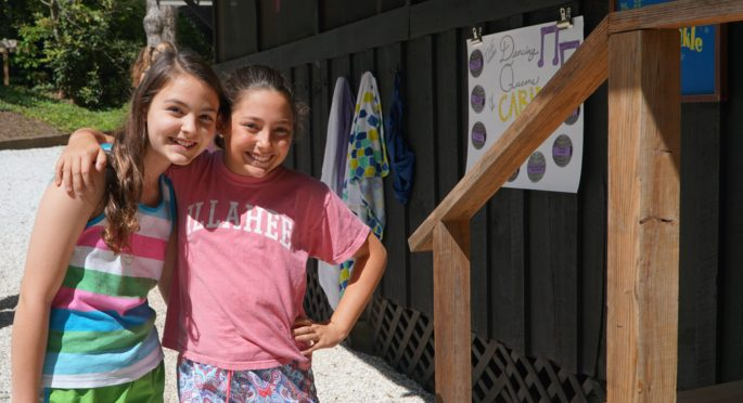 Two campers reunite on opening day