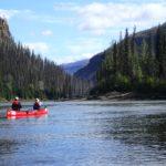 Paddling on the Beaver RIver, Yukon, Canada